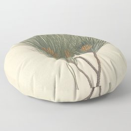 Botanical Pine Floor Pillow
