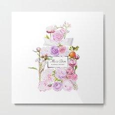 Parfum Blooming Bouquet Metal Print