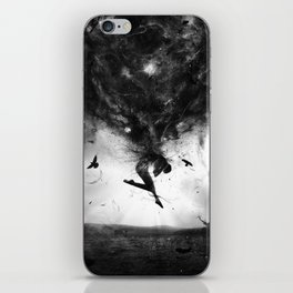 Back to origins iPhone Skin