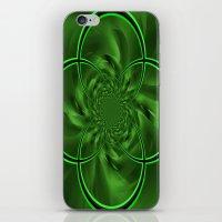 clover iPhone & iPod Skins featuring Clover by Sartoris ART