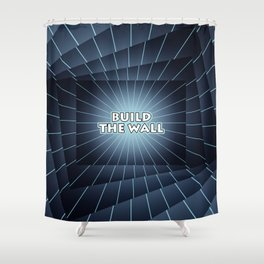 Build The Wall Shower Curtain