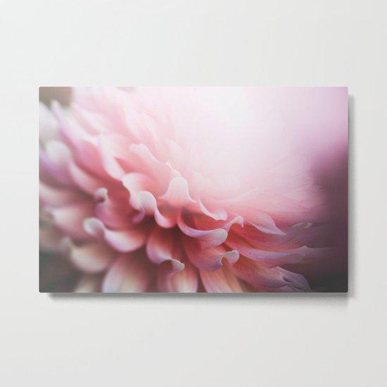 pastel pink Metal Print