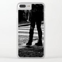 Crosswalk Clear iPhone Case