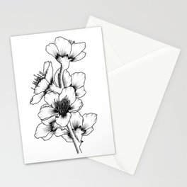 Peach Blossom Stationery Cards