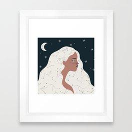 keeper of stars Framed Art Print