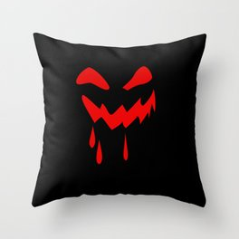 Halloween laughs Throw Pillow