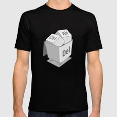 keyboard MEDIUM Mens Fitted Tee Black