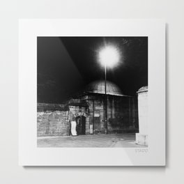 Night Light in Istanbul Metal Print