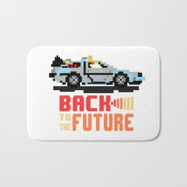 Back to the future: Delorean Bath Mat