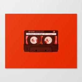Mixtape: Love Songs Canvas Print