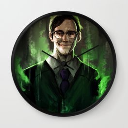 Riddle me this Wall Clock