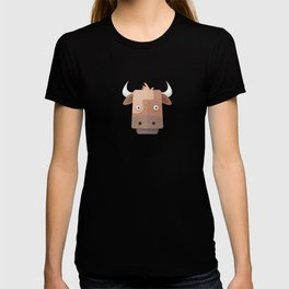 The Cow of Videos Manguis T-shirt