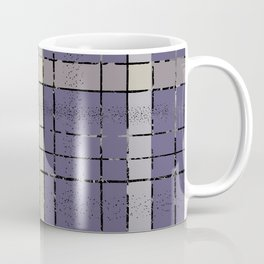 Retro pastel plaid pattern N5 Coffee Mug