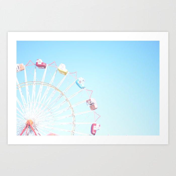 Fryeburg Fair Ferris Wheel Kunstdrucke