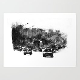 TRAFIC Art Print