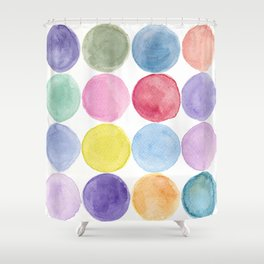 dotted and well organized Shower Curtain