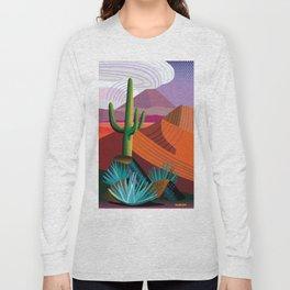 Thunderhead Builds in Arizona Desert Long Sleeve T-shirt