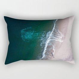 Ocean Walk III Rectangular Pillow