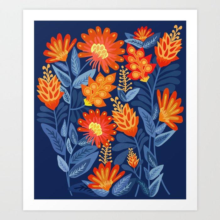 Midnight Garden Kunstdrucke