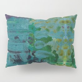 Sound Effects in Teal Pillow Sham