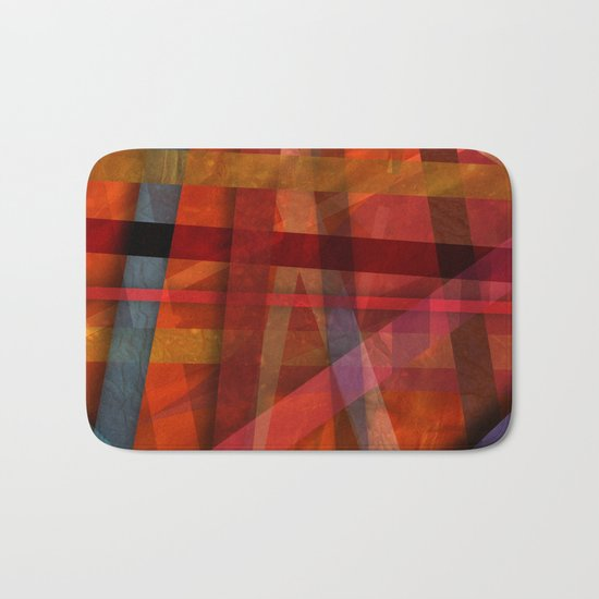 Abstract #466 Bath Mat