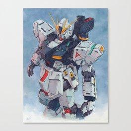 Nu Gundam watercolor Canvas Print