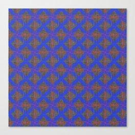 Great Heritage - Blue at Tweed Canvas Print