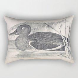 080 White eyed Duck nyroca australis Rectangular Pillow