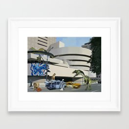 Post-Nuclear Guggenheim Visit Framed Art Print
