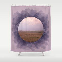 Landscape Series Purple Shower Curtain