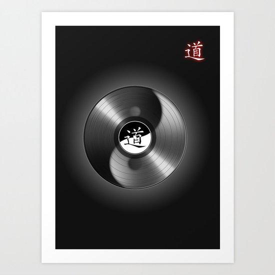 tao_disk Art Print
