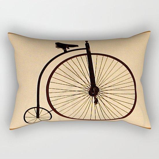 Speedy Bike Rectangular Pillow