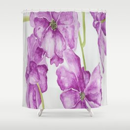 Flower lilac Shower Curtain