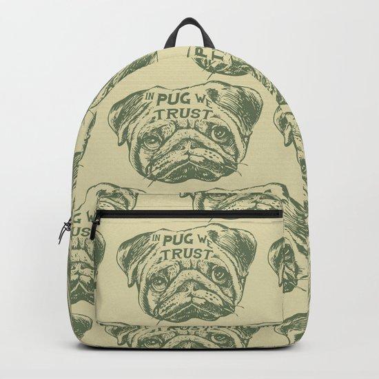 IN PUG WE TRUST Backpack