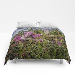 Fireweed on the Mountain Comforters