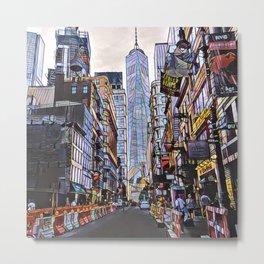 Downtown New York1 Metal Print