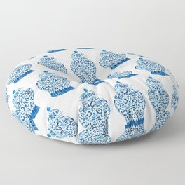 Blue and White Ginger Jar  Floor Pillow