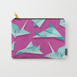 planes and cranes Carry-All Pouch