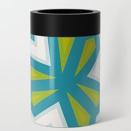 Retro shapes Can Cooler