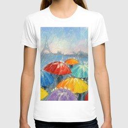 Bright rain in Paris T-shirt