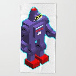 Robot Beach Towel