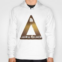 laura palmer Hoodies featuring Bastille #1 Laura Palmer by Thafrayer
