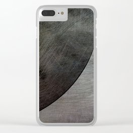 Rough Heavy Metal Clear iPhone Case