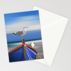 We are waiting Stationery Cards