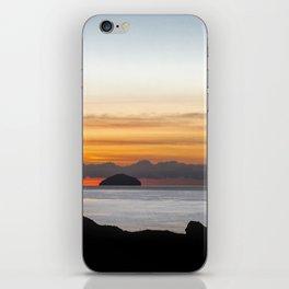 Ailsa Craig Scotland at Sunset iPhone Skin