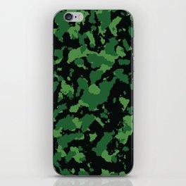 Camo 10 - Swamp Predator iPhone Skin