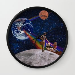 Oh What a Gorgeous Adventure Wall Clock