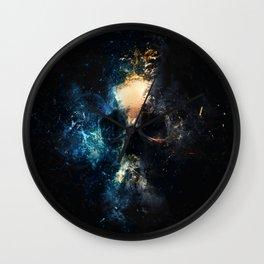 Depth Skull Wall Clock