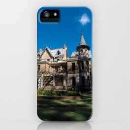 Beautiful abandoned castle in the province of buenos aires. iPhone Case