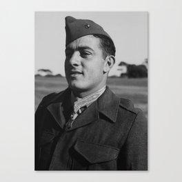 John Basilone wearing The Medal of Honor Canvas Print